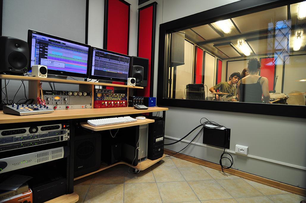 Recording studio e sala prove - Sala insonorizzata ...