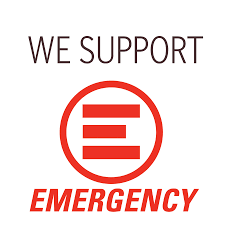 We Support EMERGENCY